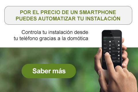 Por el precio de un smartphone puedes automatizar tu instalación